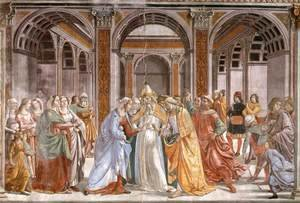 Domenico Ghirlandaio - 04, Marriage of Mary