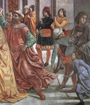 Domenico Ghirlandaio - Marriage of Mary (detail) 2