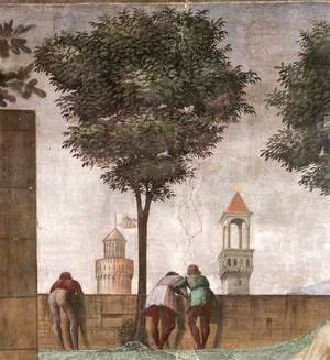 Domenico Ghirlandaio - Visitation (detail) 4