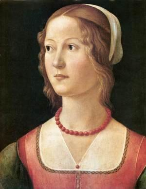 Domenico Ghirlandaio - Portrait of a Young Woman