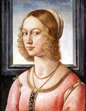 Domenico Ghirlandaio - Portrait of Giovanna Tornabuoni