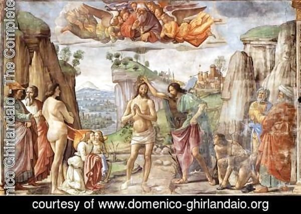 Domenico Ghirlandaio - Baptism of Christ