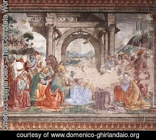 Domenico Ghirlandaio - Adoration Of The Magi2