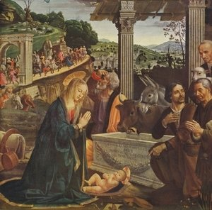 Adoration of the Shepherds 1482-85