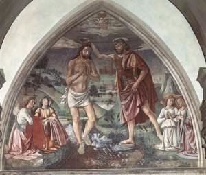 Domenico Ghirlandaio - Baptism of Christ  c.1473