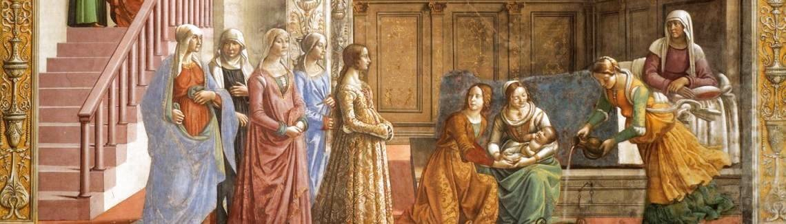 Domenico Ghirlandaio - Birth Of Mary