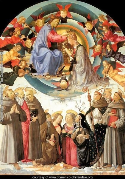 Coronation of the Virgin 1486