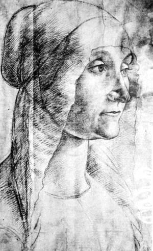 Elderly Woman 1486-90