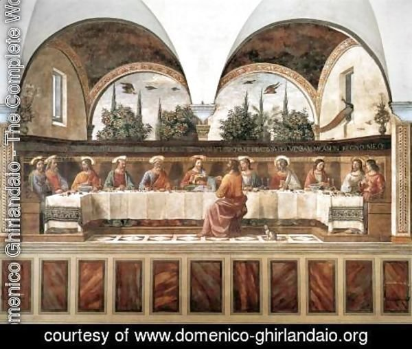 Domenico Ghirlandaio - Last Supper c. 1486