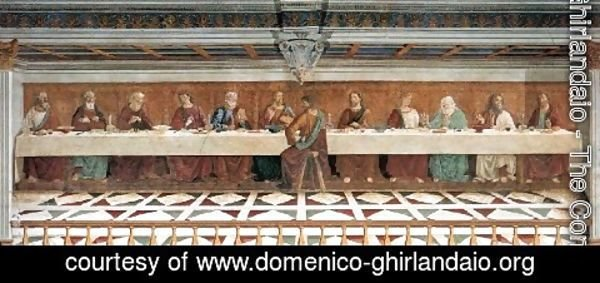 Domenico Ghirlandaio - Last Supper 1476