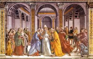 Domenico Ghirlandaio - Marriage Of Mary
