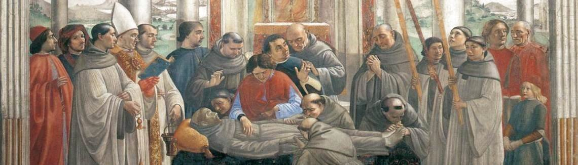 Domenico Ghirlandaio - Obsequies of St. Francis