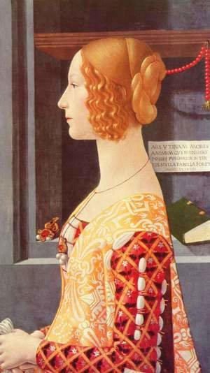 Domenico Ghirlandaio - Portrait of Giovanna Tornabuoni 1488