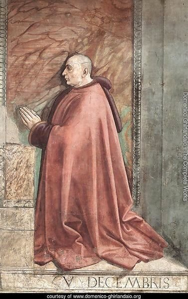Portrait of the Donor Francesco Sassetti c. 1485
