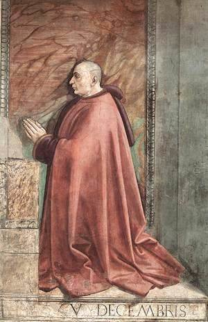 Domenico Ghirlandaio - Portrait of the Donor Francesco Sassetti c. 1485