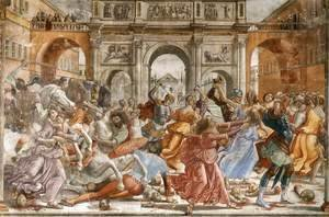 Domenico Ghirlandaio - Slaughter of the Innocents 1485-90