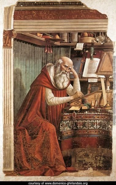 St Jerome in his Study 1480