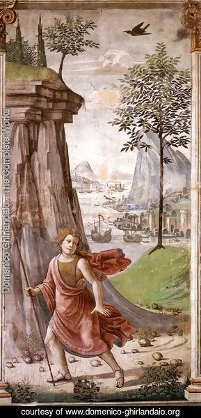 Domenico Ghirlandaio - St John The Baptist In The Desert