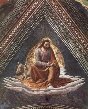 Domenico Ghirlandaio - St Luke The Evangelist