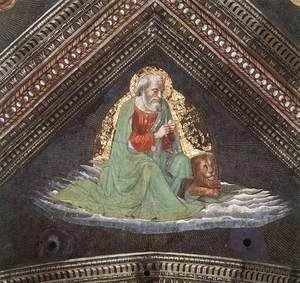 Domenico Ghirlandaio - St Mark The Evangelist