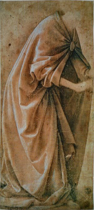 Domenico Ghirlandaio - Study Of Garments 1491