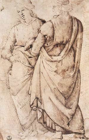 Study Of Two Women 1486