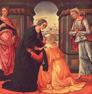 Domenico Ghirlandaio - Visitation c. 1491