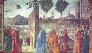 Domenico Ghirlandaio - Visitation2