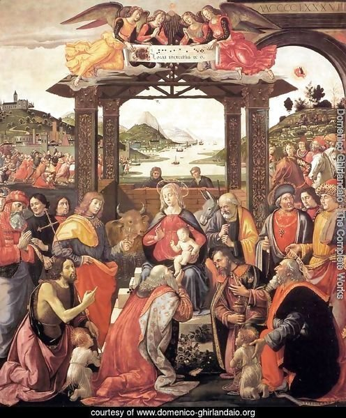 Adoration of the Magi 1488