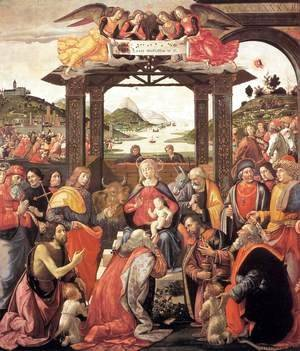 Domenico Ghirlandaio - Adoration of the Magi 1488