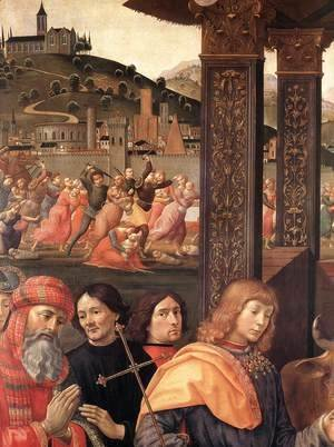 Domenico Ghirlandaio - Adoration of the Magi (detail 1) 1488