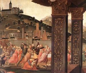 Domenico Ghirlandaio - Adoration of the Magi (detail 3) 1488