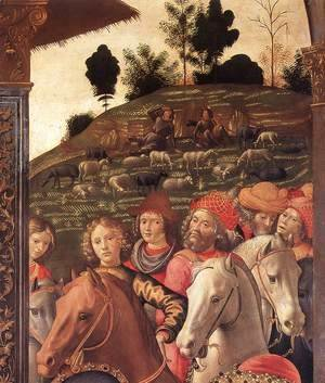 Adoration of the Magi (detail 5) 1488