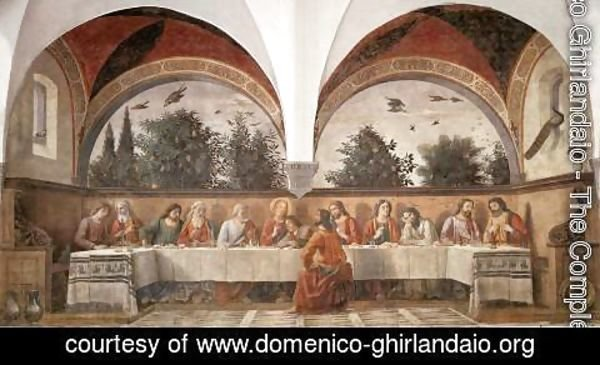 Domenico Ghirlandaio - Last Supper 1480
