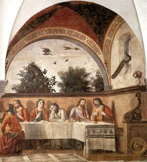 Domenico Ghirlandaio - Last Supper (detail 2) 1480