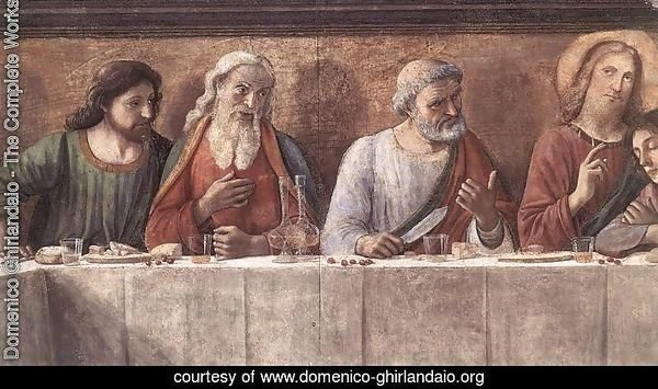 Last Supper (detail 3) 1480