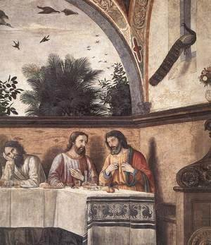 Domenico Ghirlandaio - Last Supper (detail 4) 1480
